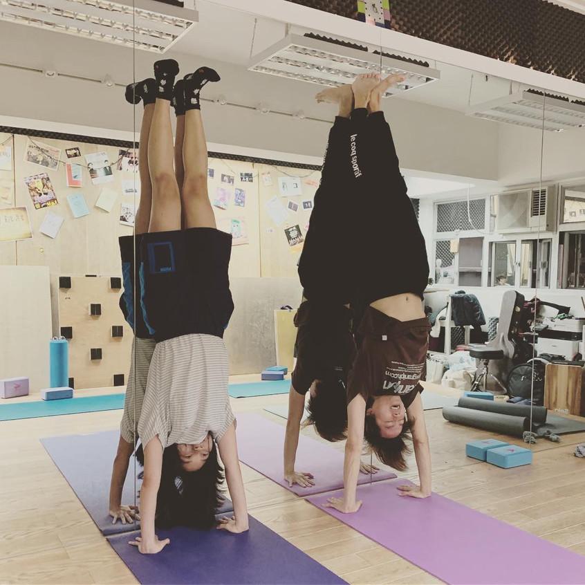 Inversion Class (Yoga Class)