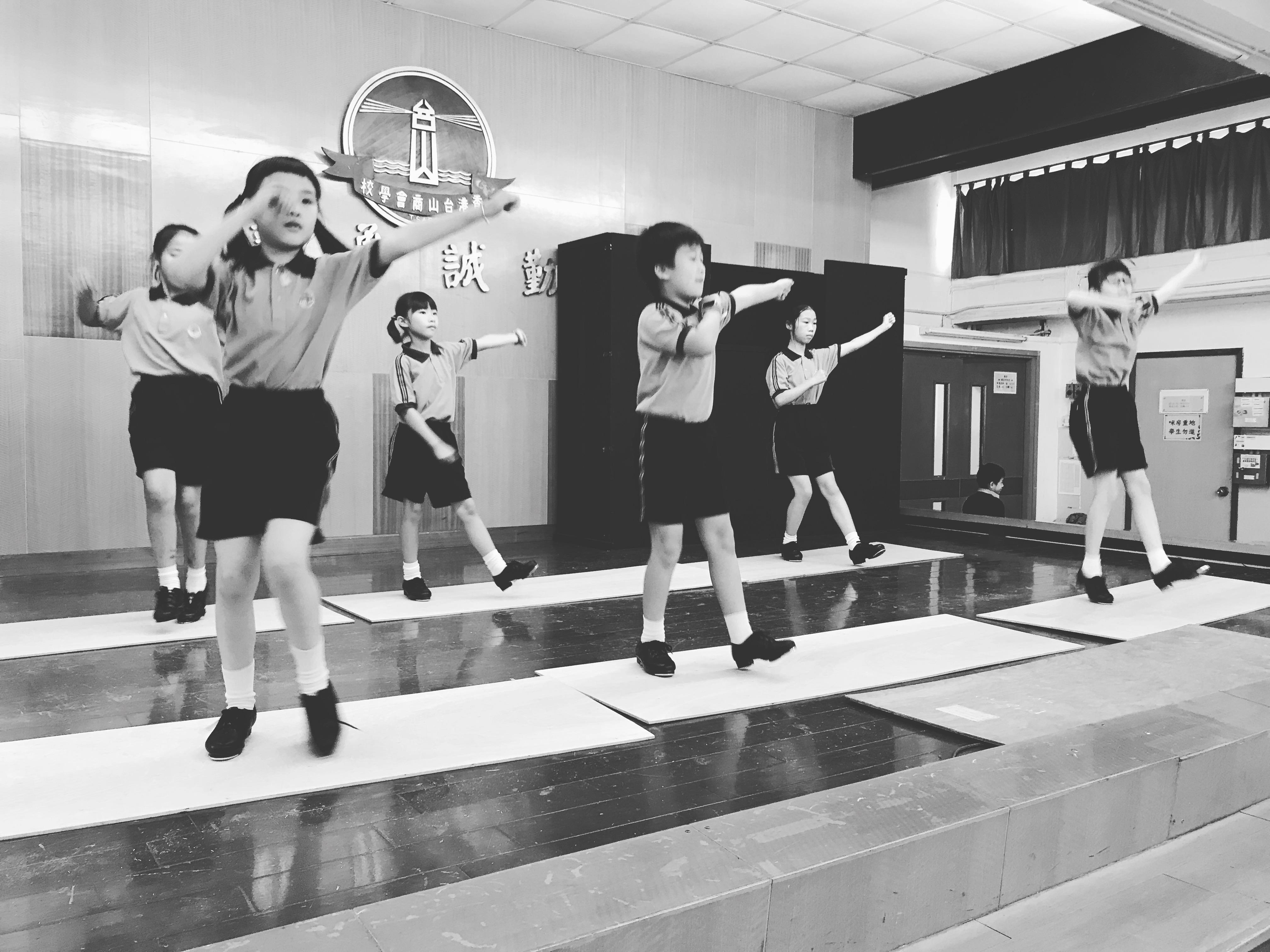 兒童踢躂演出課程