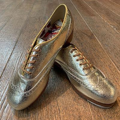 Golden Tap Shoes