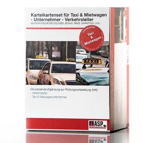Karteikarten Taxi & Mietwagen Unternehmer- Verkehrsleiter (IHK)