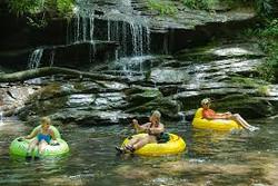 Tubing Down the Creek