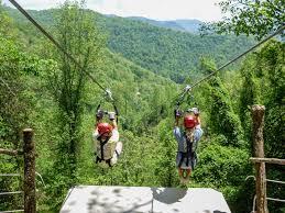 Mountain Ziplining