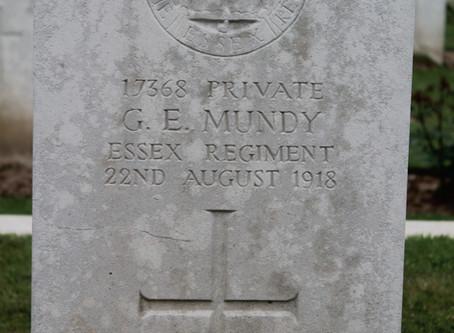 George Edward Mundy 1898-1918