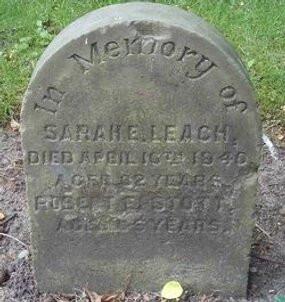 Sarah Elizabeth Stott 1858-1940
