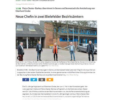 Bezirksamtsleiter*innen-Wechsel Sennestadt