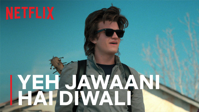 """A dhinchak over the top hair gel ad that speaks to the bollywood hero inside of us. And who better than Steve """"The Hair"""" Harrington from Stranger Things, to star in it."""