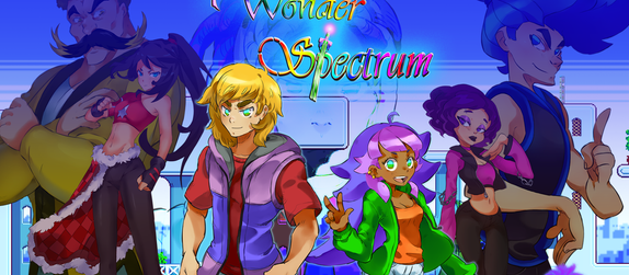 Wonder Spectrum at Fitchburg State University's Game-Con!
