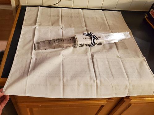 SPECIAL SET save 24 dollars (1/4 inch set, 3/8 inch set, tea towel)