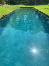 zwembad in aanbouw, liner pvc, maatwerk, zwembadbouwer, merelbeke