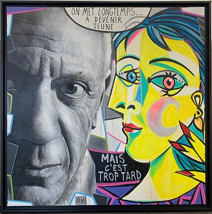 """Fabrice Prenat """"Pablo Picasso"""""""