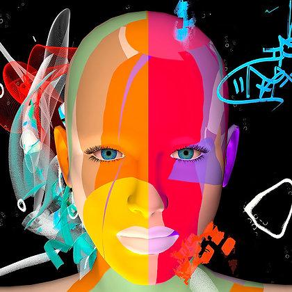"""Alain Vaissiere """"Life is colour"""""""