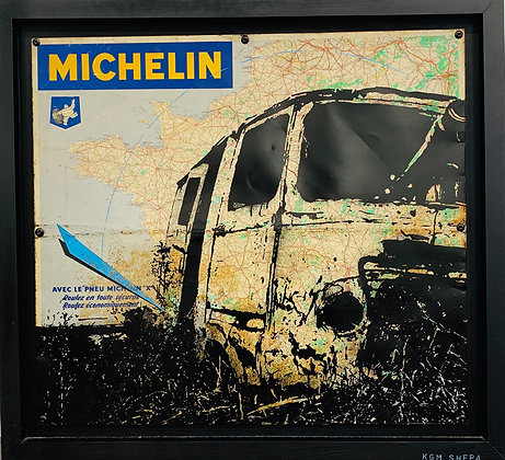 KGM Shepa « Estafette carte Michelin »