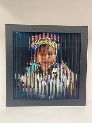Fred Benoit «Ethnies : Karen Long Nek 2/ Peulh 9»