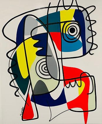 """Muriel Matt """"Abstract me"""""""
