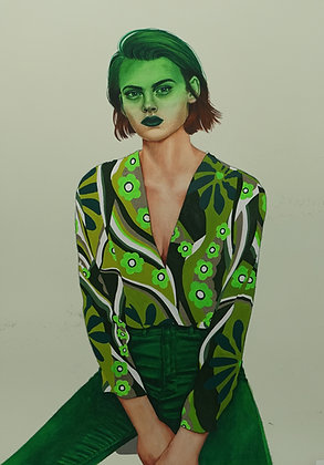 "Cannibal Malabar ""Green 01 Neon collection"""