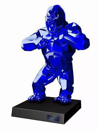 "Richard Orlinski ""Kiwikong glossy blue"""