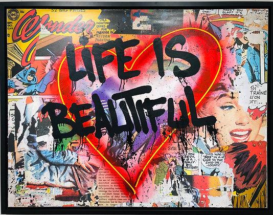 "Mister Brainwash ""speak from the heart - life is beautiful"""