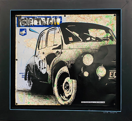 KGM Shepa «Forget this car»