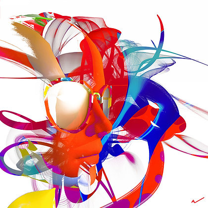 """Alain Vaissiere """"Coloriage"""""""