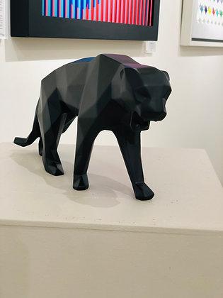 "Richard Orlinski ""Panthère noir mat"""