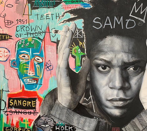 "Fabrice Prenat ""Jean Michel Basquiat"""