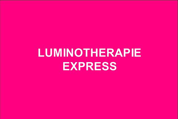 Luminothérapie express