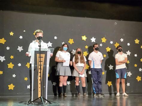 Graduación de los alumnos de 4ºESO del Colegio Santa Ana de Sevilla
