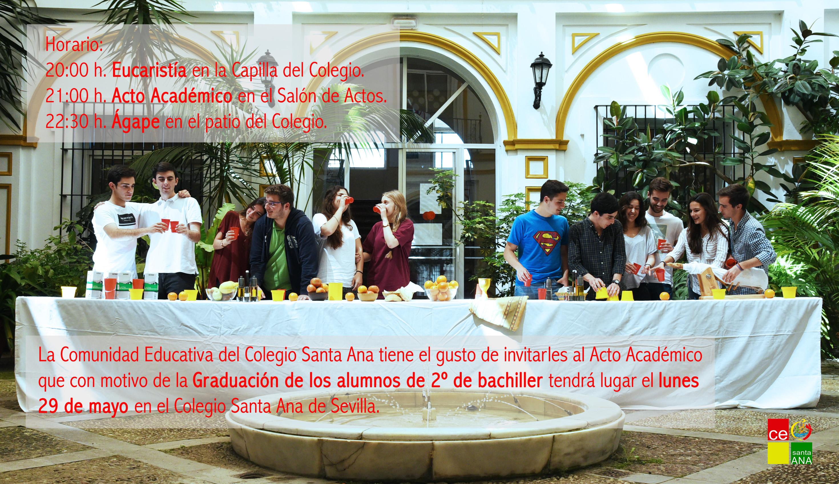 Tarjeta invitación, graduación