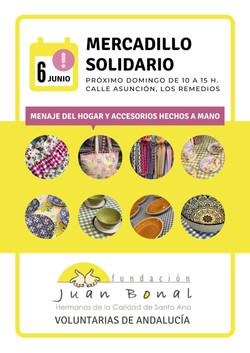 Mercadillo Fundación Juan Bonal
