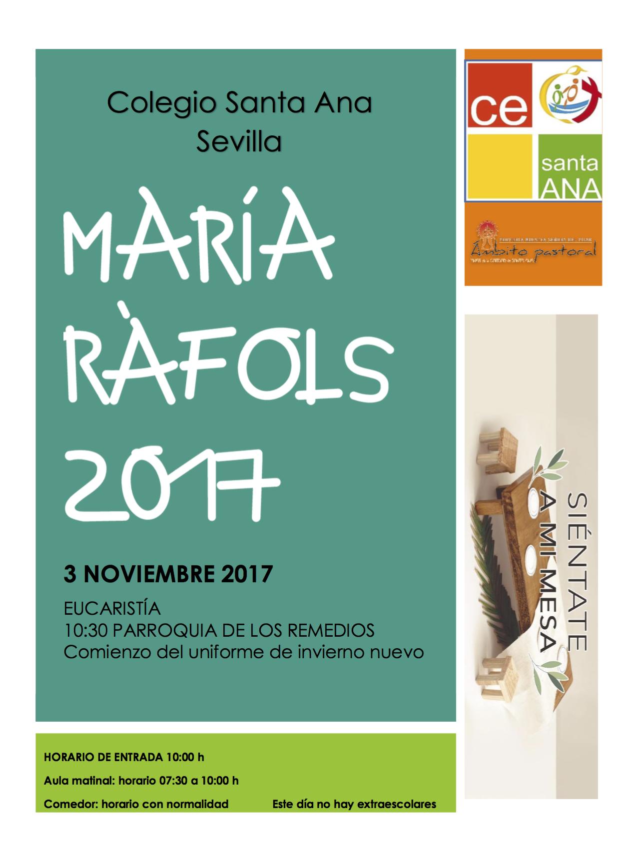 María Rafols, 2017