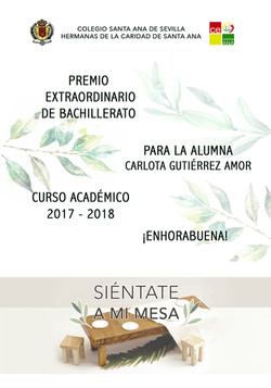 Premio Extraordinario de Bachillerato