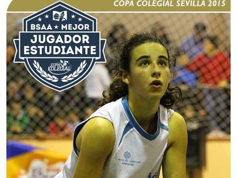 Pilar Gil Fombella, galardonada como Best Student Athlete Awards