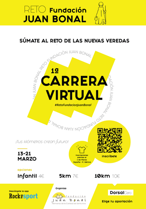 1ª Carrera Virtual de Fundación Juan Bonal