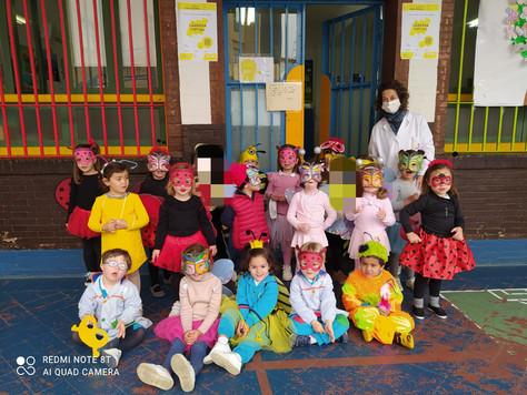 Los alumnos de 3 años finalizan con éxito el Proyecto Hormigas