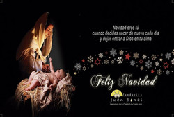 Tarjeta de Navidad FJB