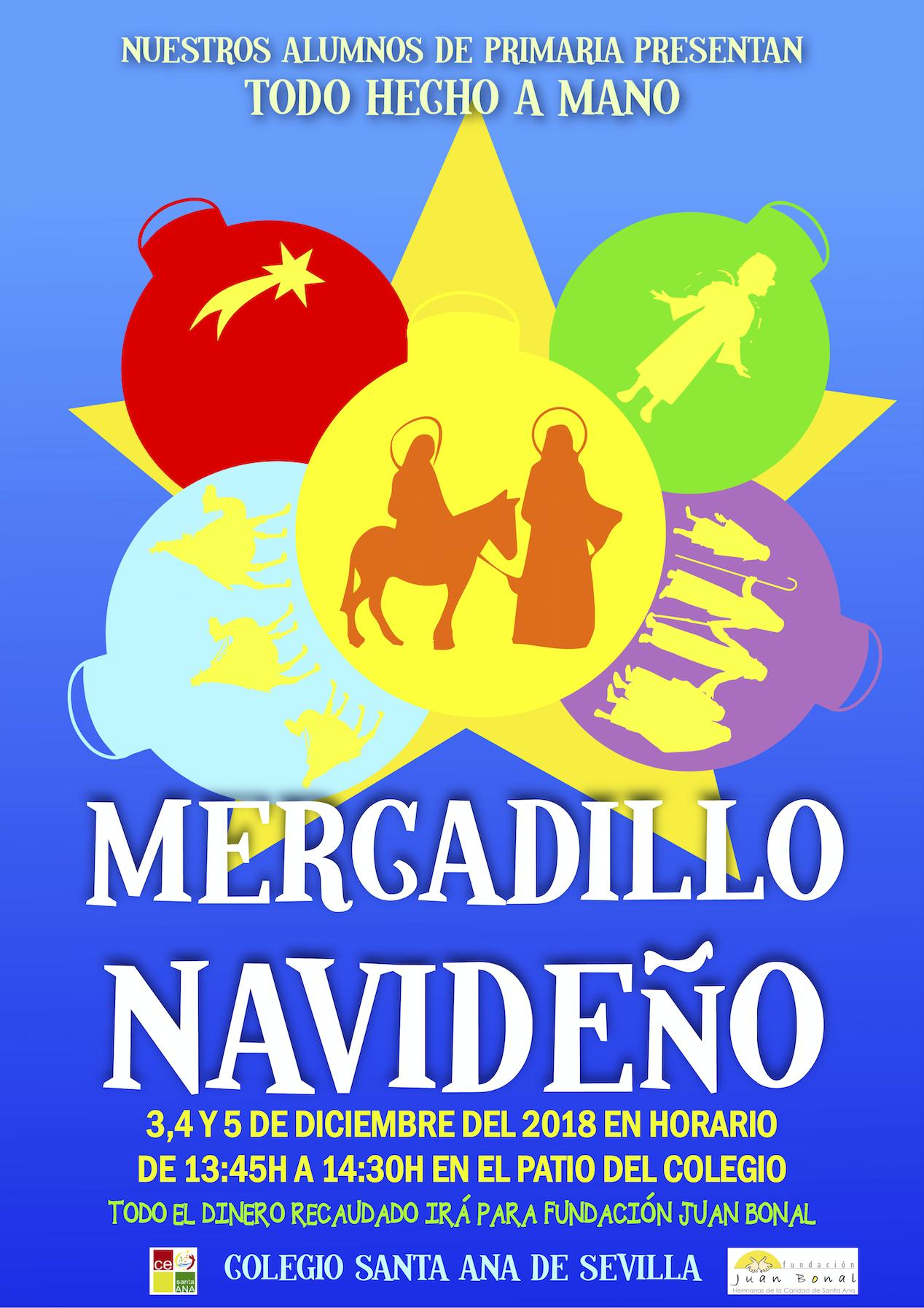 Cartel Mercadillo Navideño 2018-19