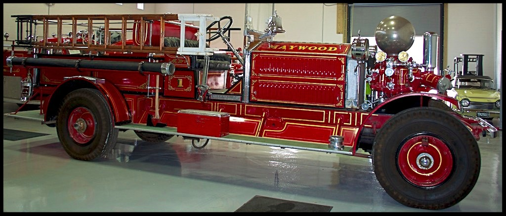 1925 Ahrens Fox Pumper