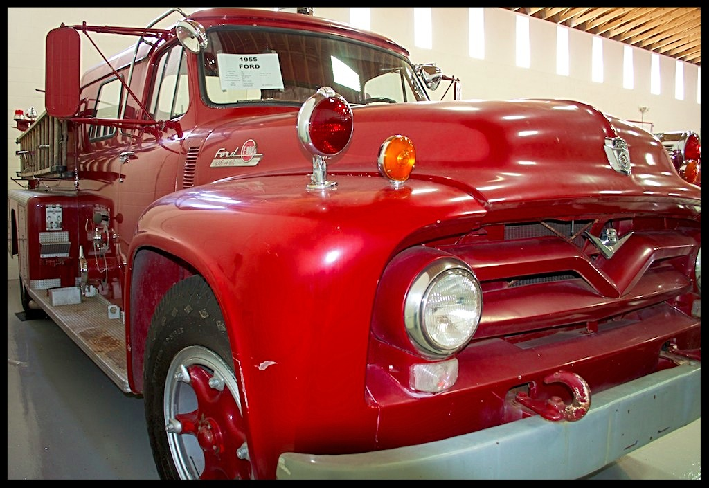 1955 Ford Pumper