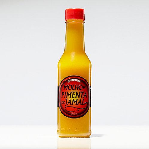 Molho de Pimentas Amarelas - Garrafa 150ml