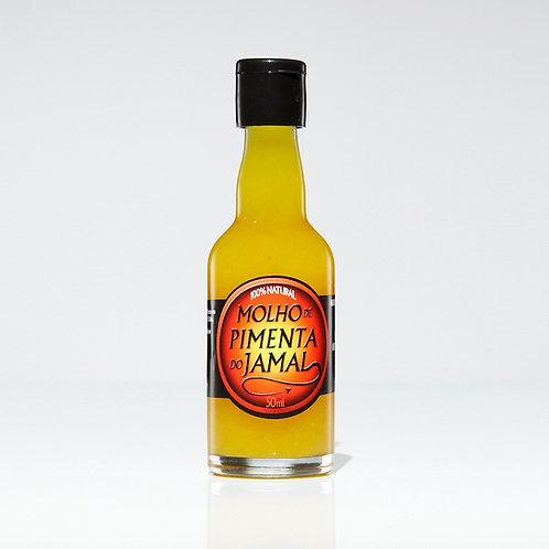 Molho de Pimentas Amarelas - Garrafa 50ml