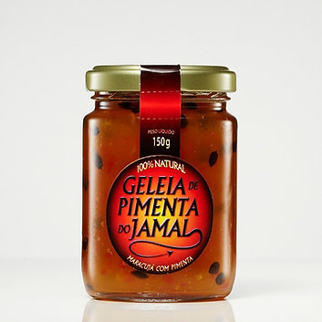 Geleia de Maracujá com Pimenta