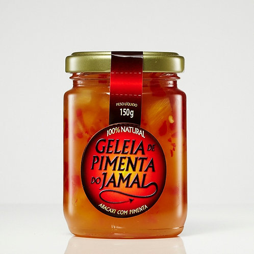 Geleia de Abacaxi com Pimenta