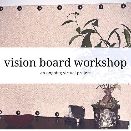 Virtual Vision Board Course
