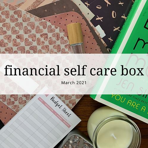 Financial Self Care Box