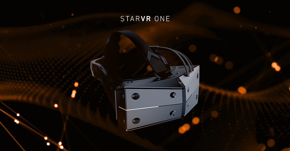 StarVR 高階虛擬實境頭戴裝置