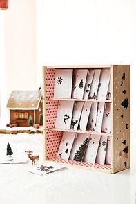 KalenderHaus advent calendar set up