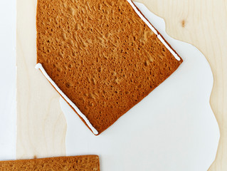 Making Gingerbread House Building Easy