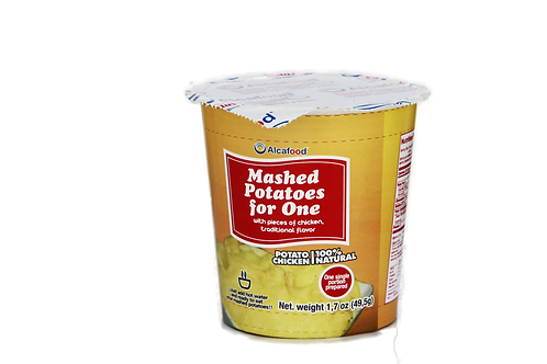 Mashed Potatoes for One - with pieces of chicken 1.7 Oz. x 36