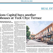 Featured on The Business Times – 30 July 2020