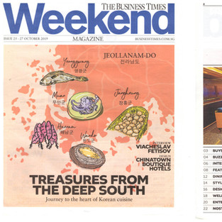 Featured on The Business Times Weekend – 27 October 2019